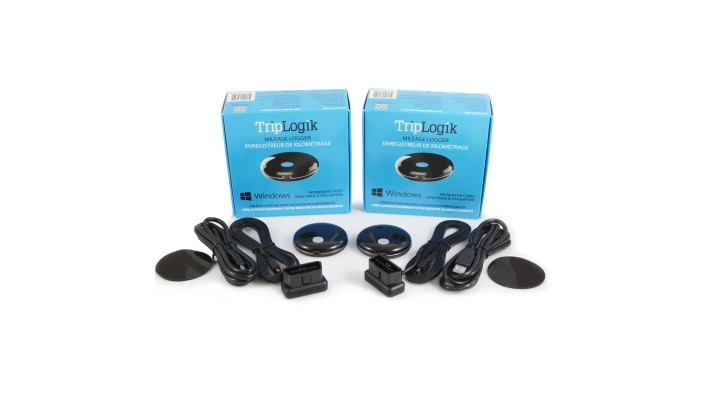 Kit of 2 TripLogik GPS Mileage Recorder for PC version