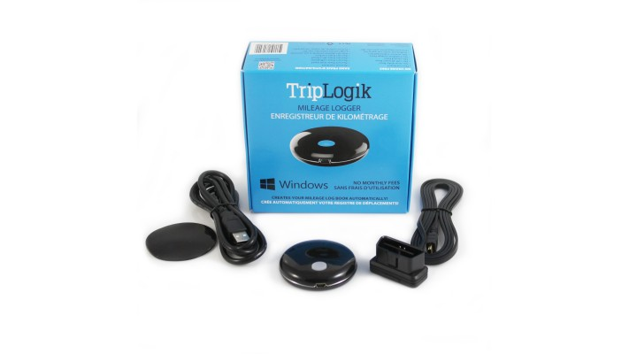 1 TripLogik TL1000 GPS Mileage Logger for PC version